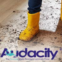 Armstrong Audacity - The Fearless Water Resistant Laminate Floor